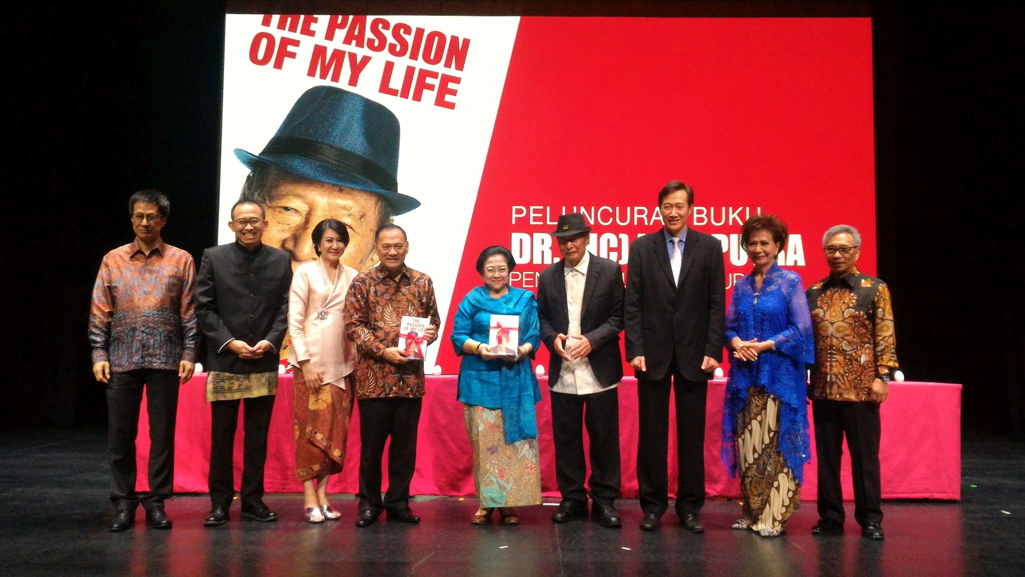 Ir. Ciputra Launches Biography Book at Founders Day Ciputra Group 36th