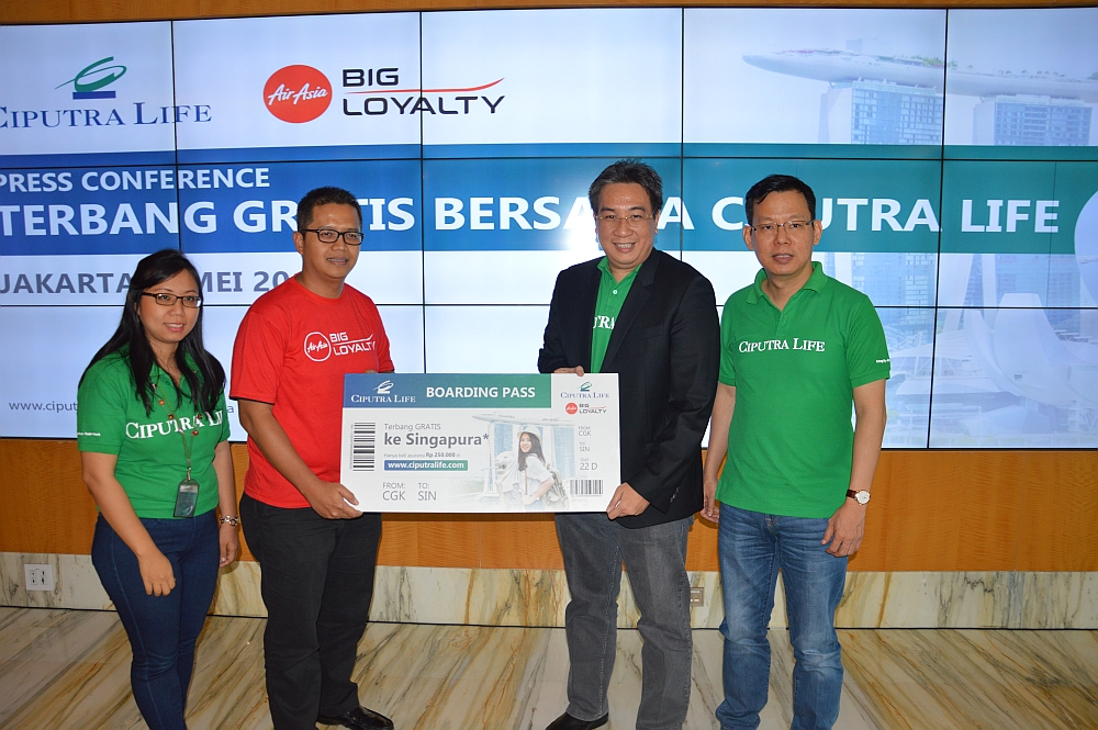 """Ciputra Life Launched """"FREE Fly Program to Singapore"""""""