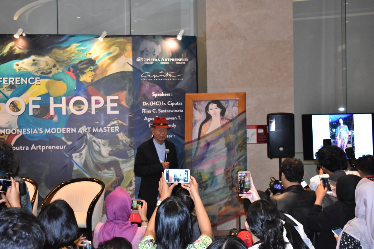 "Ciputra Artpreneur Holds ""100 Years of Hendra Gunawan"""