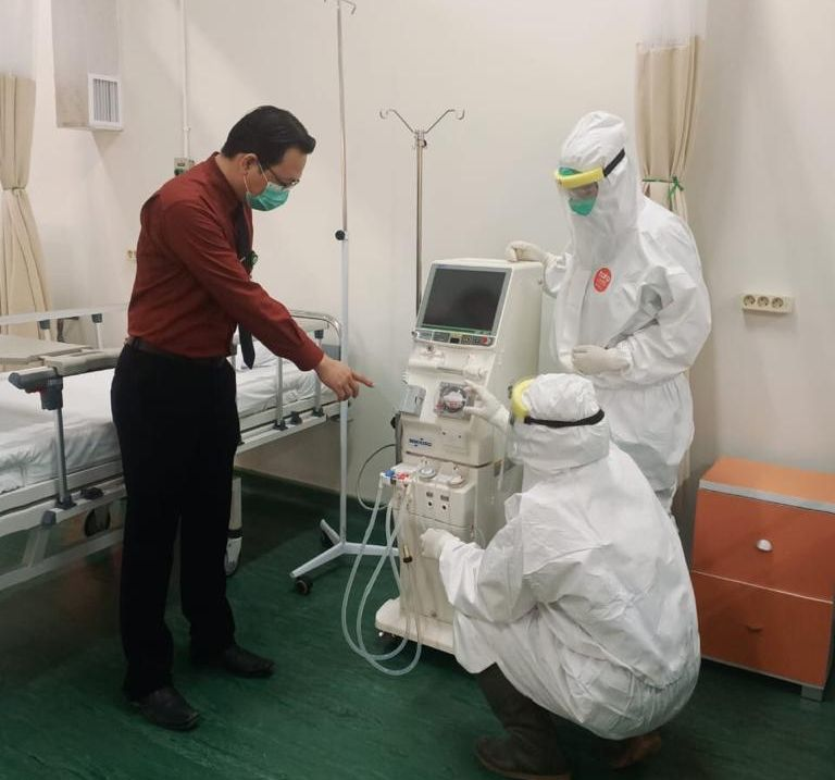 Ciputra Hospital Operates Isolation Room Covid-19 Patients